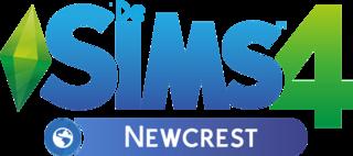 De Sims 4 Newcrest logo