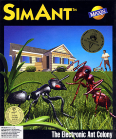 SimAnt box art packshot