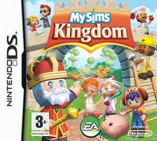MySims Kingdom DS box art packshot