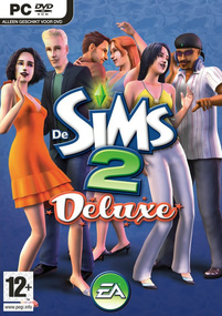 De Sims 2: Deluxe box art packshot
