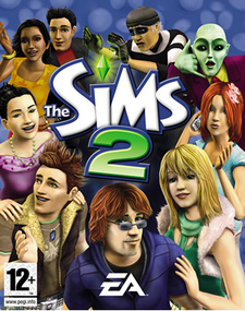 The Sims 2 for mobile games box art packshot