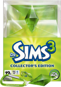 De Sims 3: Collector's Edition box art packshot