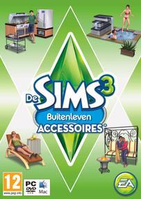De Sims 3: Buitenleven Accessoires box art packshot