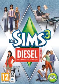 De Sims 3: Diesel Accessoires box art packshot