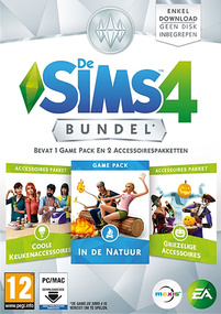 De Sims 4: Bundel Pack #2 Packshot Box Art