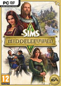 De Sims Middeleeuwen box art packshot