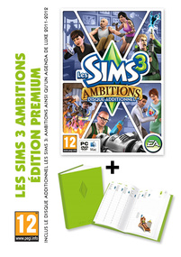 Les Sims 3: Ambitions + Agenda Deluxe (Edition Premium) packshot box art