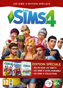 Les Sims 4 Pack Collector Noël 2016 packshot box art