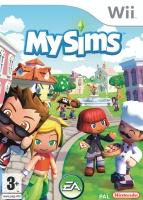 MySims Wii box art packshot