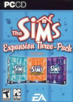 The Sims: Expansion Three-Pack, volume one box art packshot