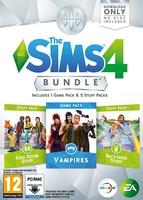 The Sims 4: Bundle Pack #4 (Vampires, Kids Room Stuff, Backyard Stuff) packshot box art