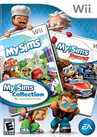 MySims Collection Wii box art packshot