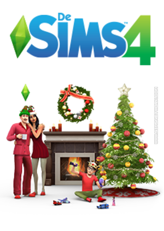 De Sims 4: Feestdagenpakket Packshot Box Art