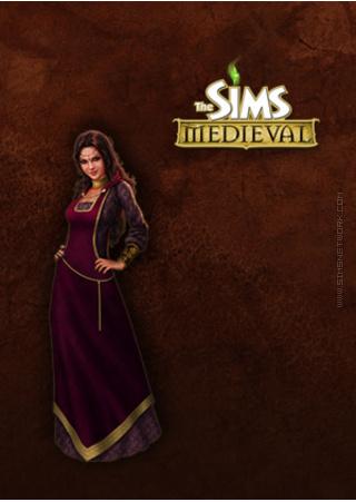 The Sims Medieval for mobile phones box art packshot