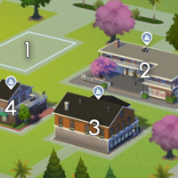 The Sims 4: Magnolia Promenade world neighbourhood
