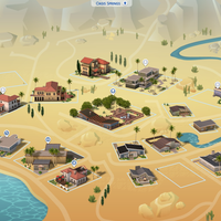 The Sims 4: Oasis Springs world