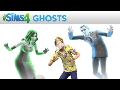 The Sims 4: Ghosts Official Trailer