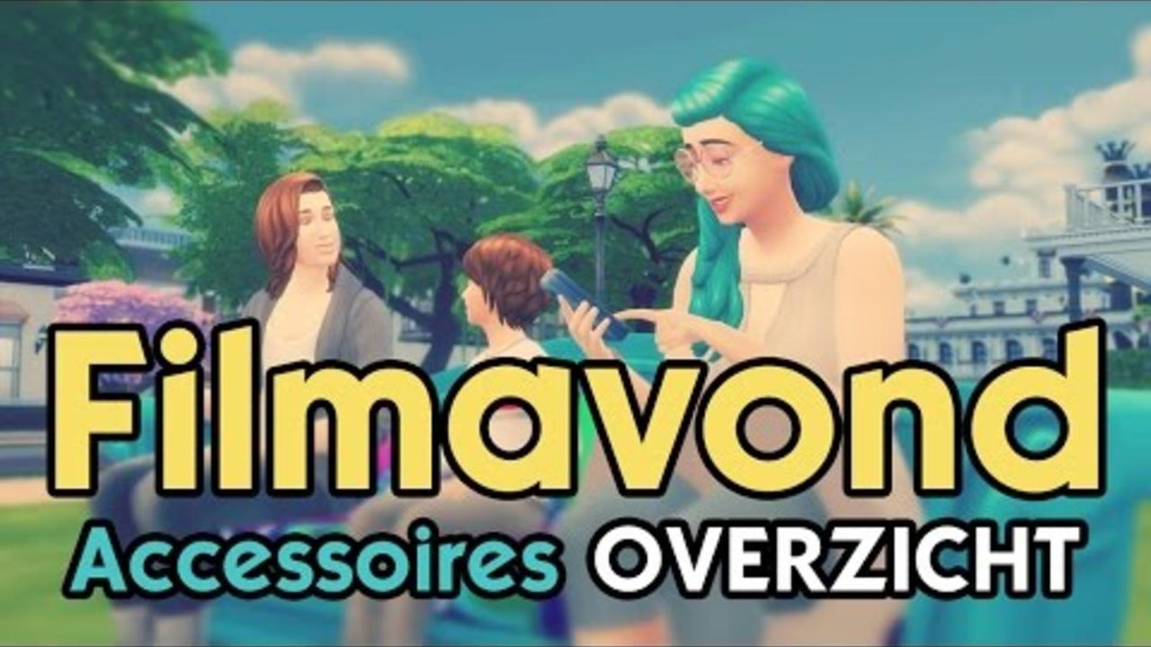 De Sims 4: Filmavond Accessoires Overzicht!