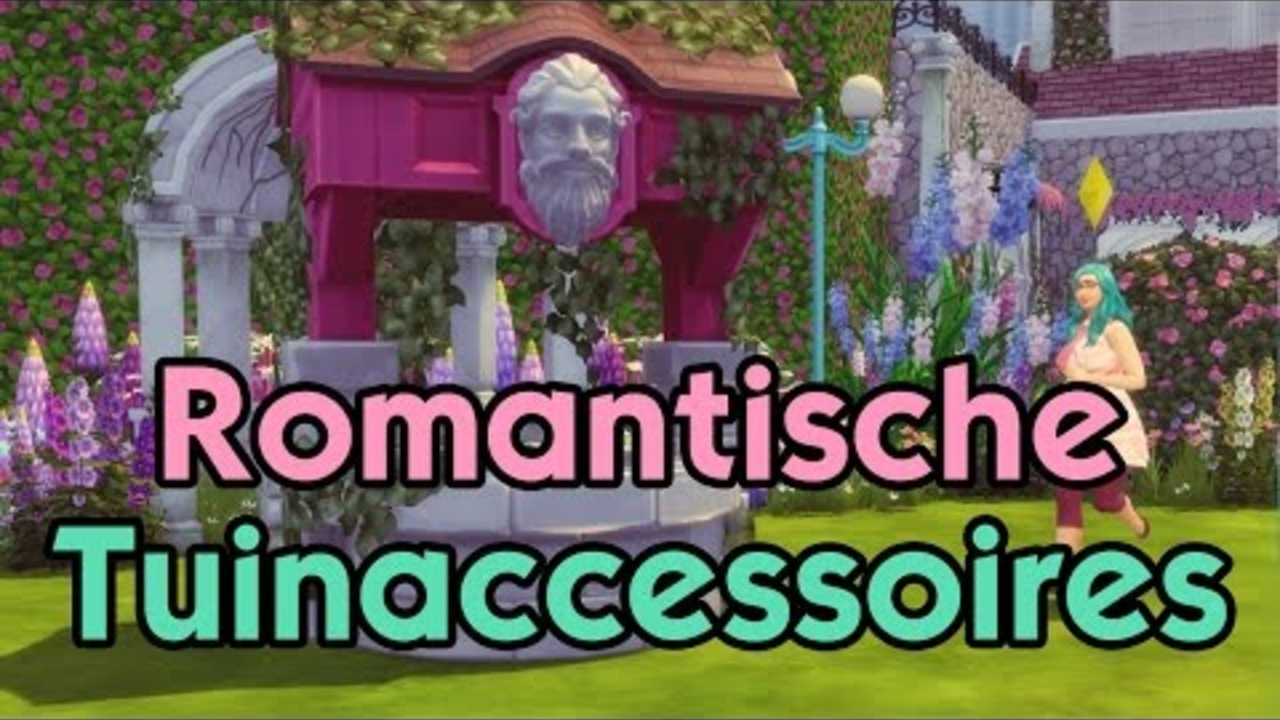 Romantische Tuinaccessoires Overzicht